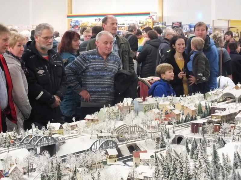 16. Modell+Bahn-Ausstellung in der Löbauer Messehalle