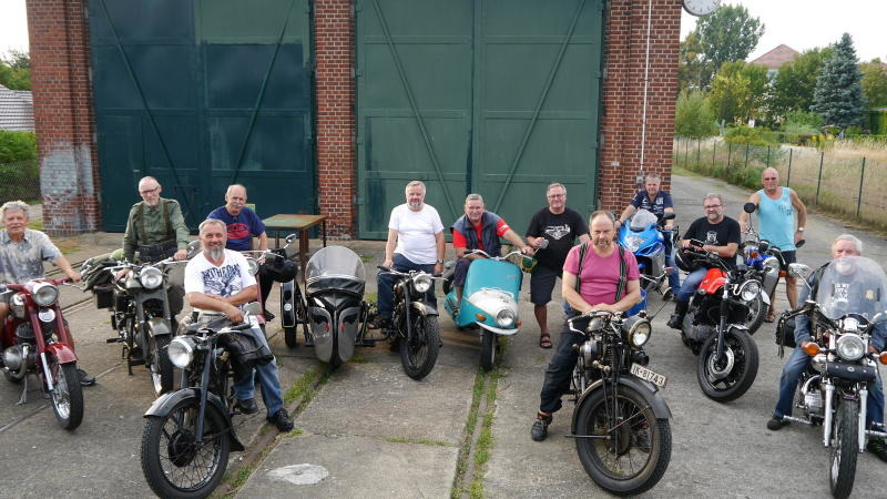 Motorradtreffen in Rothenburg