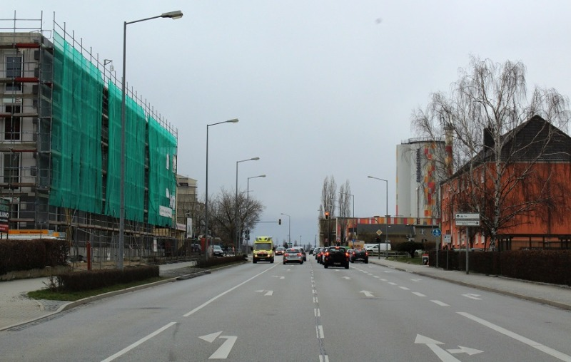 Bundesstraße halbseitig gesperrt