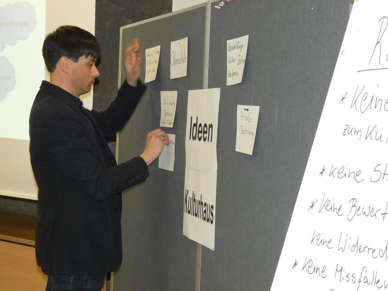 Ideen für die Zukunft des Kulturhauses