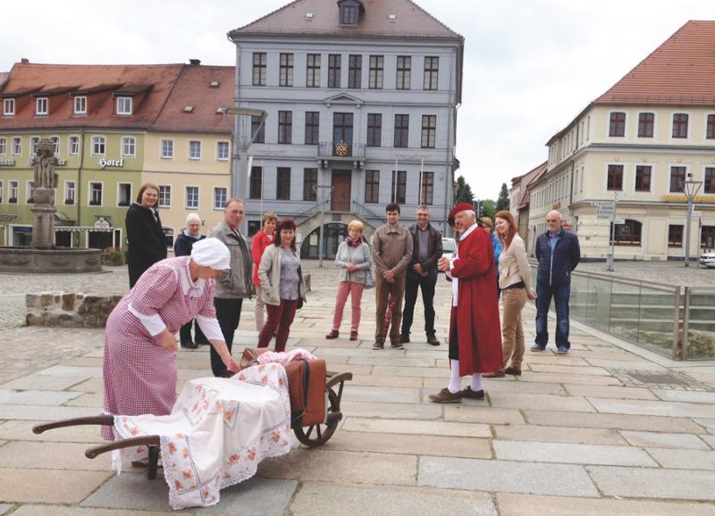 Lebendige Stadtführung in Bischofswerda