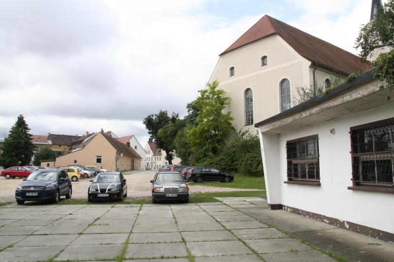 Schlossplatz noch in der Warteschleife