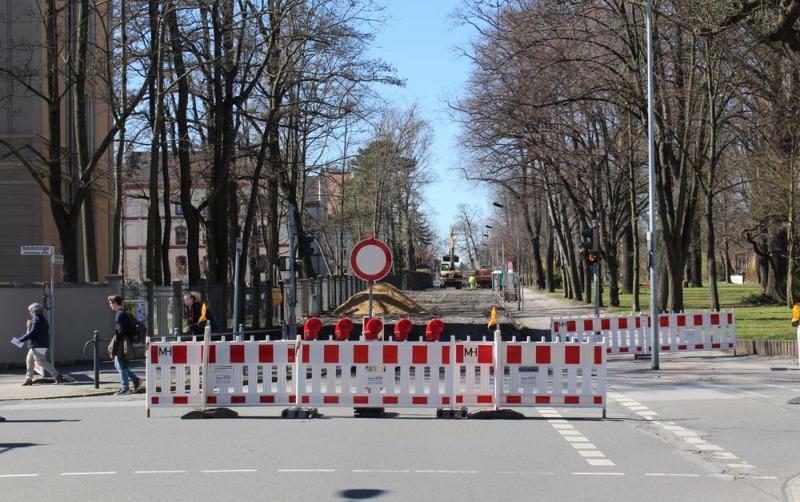 Stauzone Spreestadt: Noch eine Baustelle ab Montag