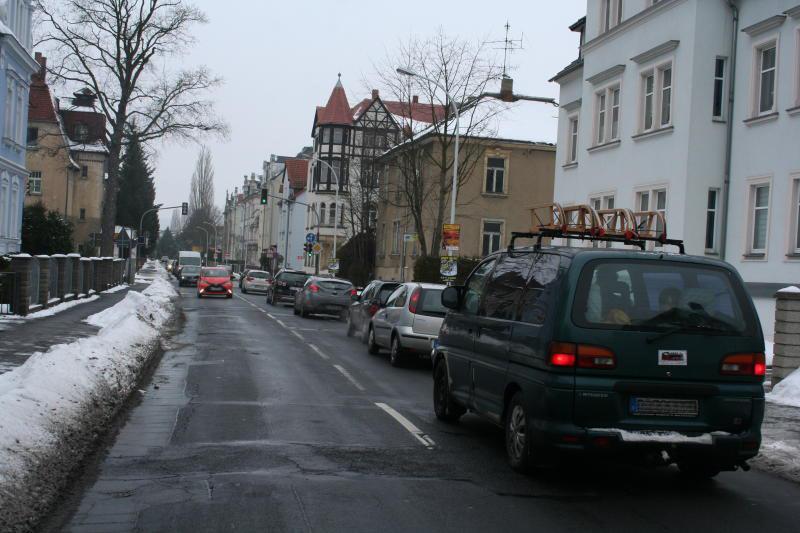 Schrammstraße wird grundhaft ausgebaut