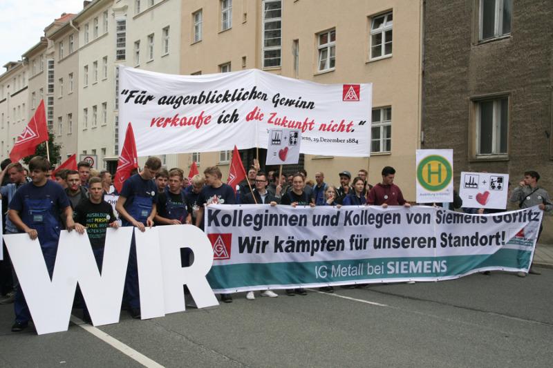 Siemens will sich aus Görlitz verabschieden