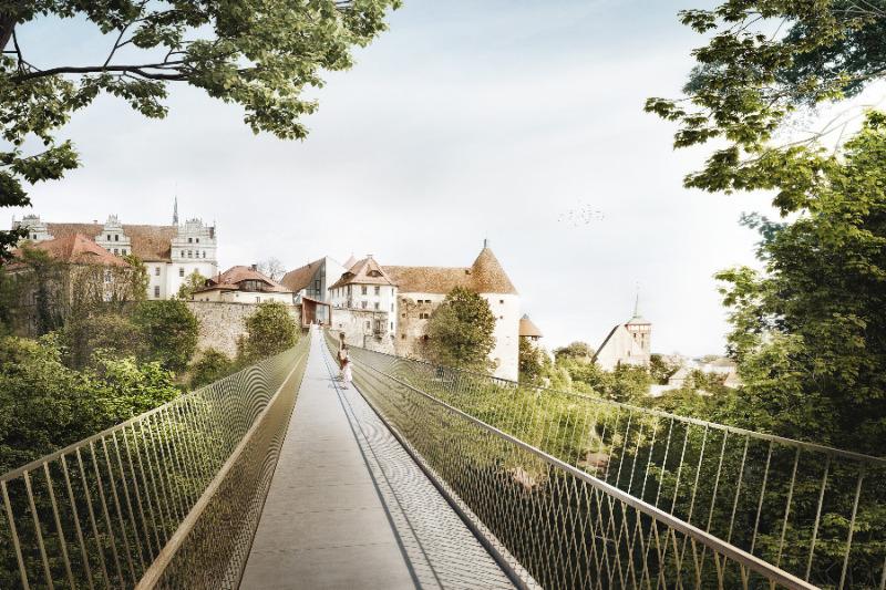 Der lange Weg zur Brücke