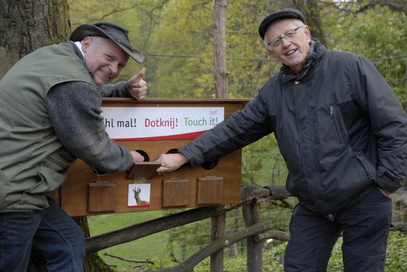Zoopädagoge peppt Tierpark-Spiele auf