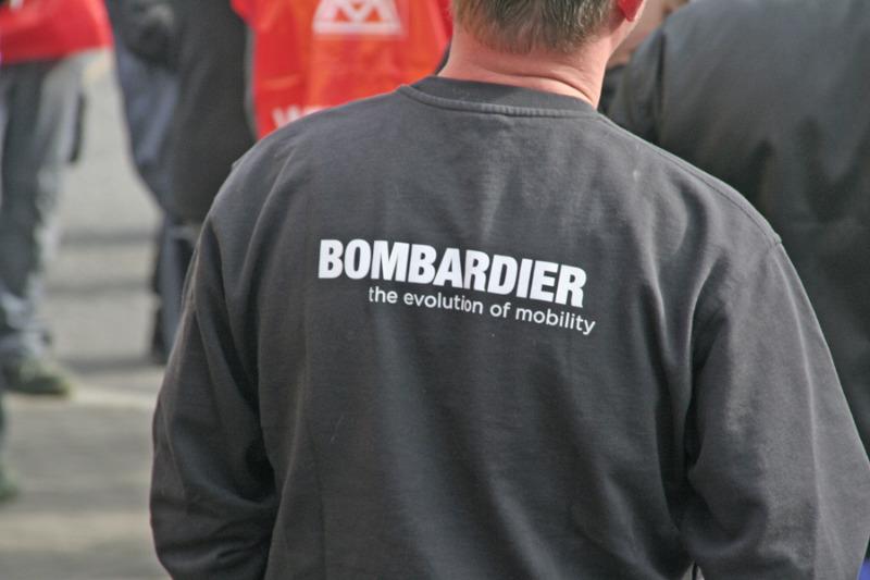 Bombardier Thema bei Gabriel