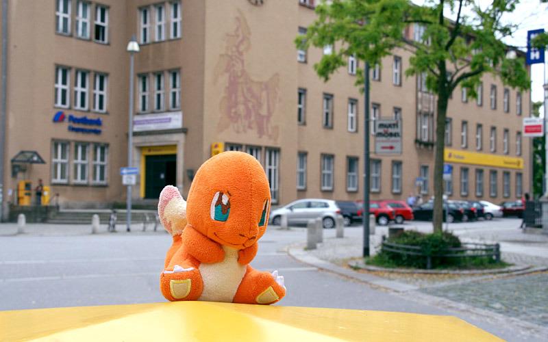 Oberlausitzer fangen Monster in der Stadt