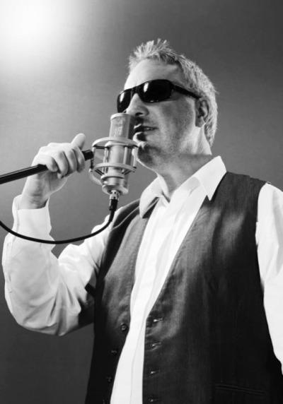 Konzert mit blindem Musiker