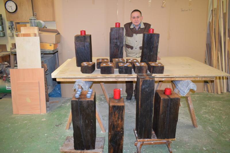 Geschichtsträchtiges Holz