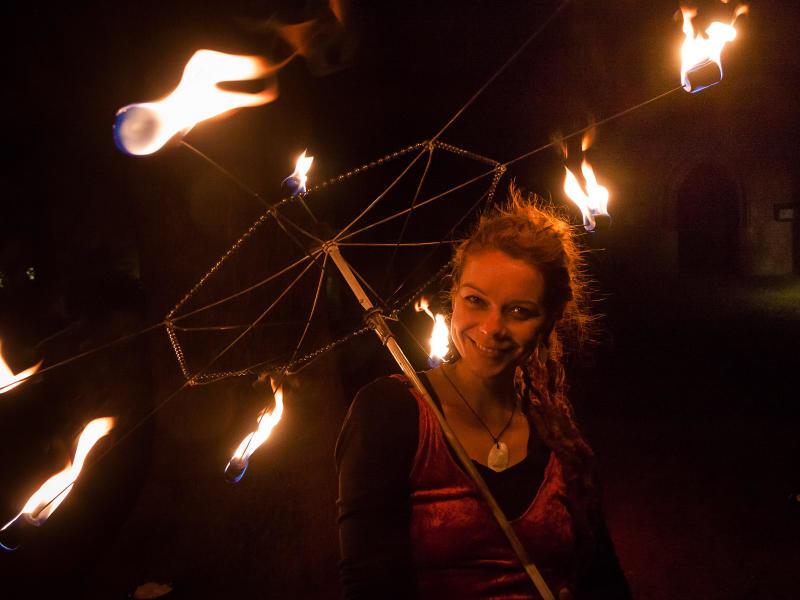 Feuer und Flamme für Kürbisse im Tierpark