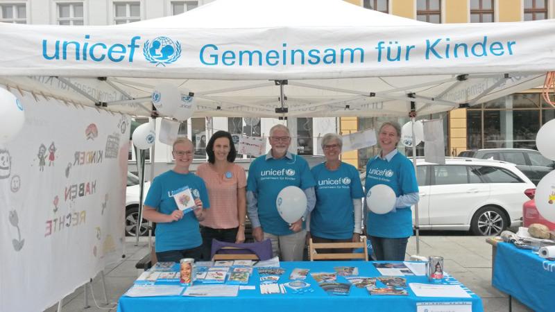 Ein Jahr Görlitzer UNICEF-Team