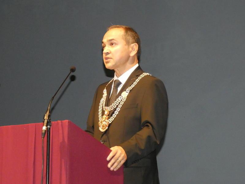 Octavian Ursu als Oberbürgermeister vereidigt