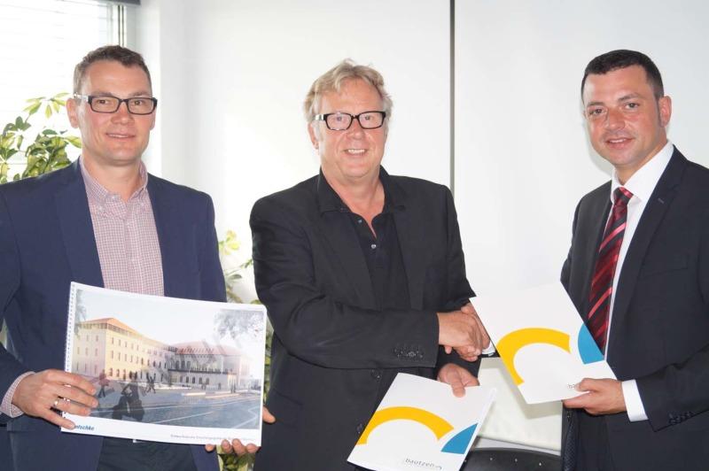 Mietvertrag für Bahnhofsgebäude unterzeichnet