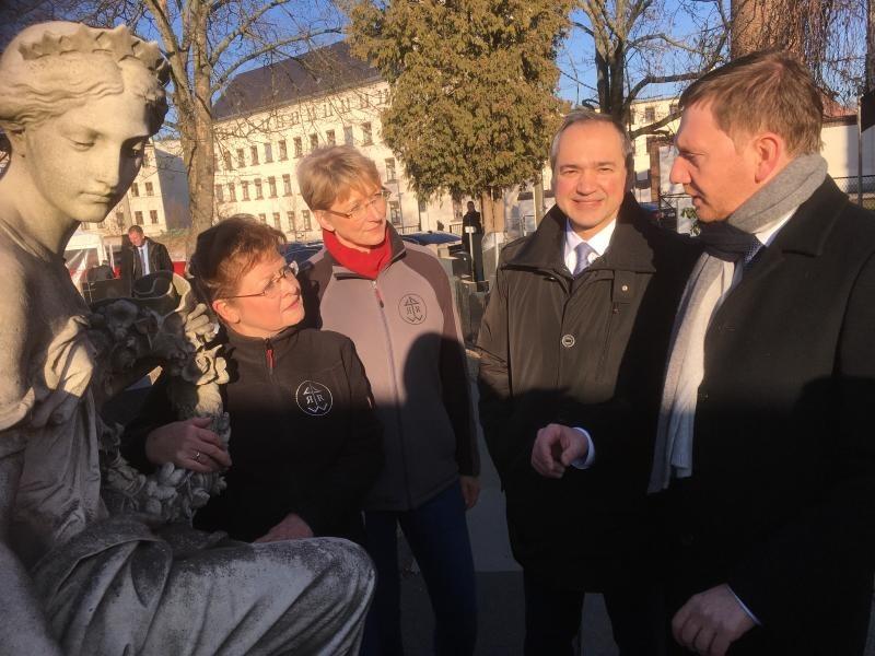 Die dicht gedrängten Tage des MP in Görlitz