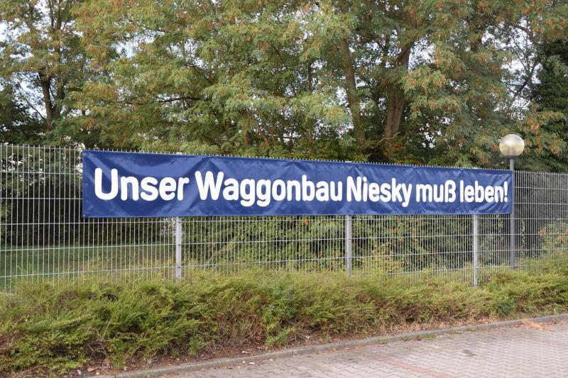Waggonbau Niesky im Ganzen verkauft