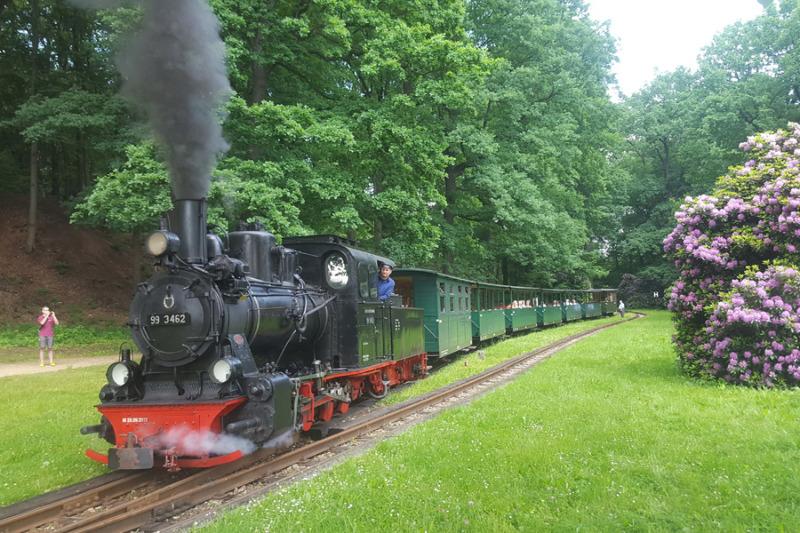 Waldeisenbahn unter Volldampf