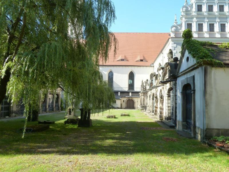 Der Klosterhof wird saniert