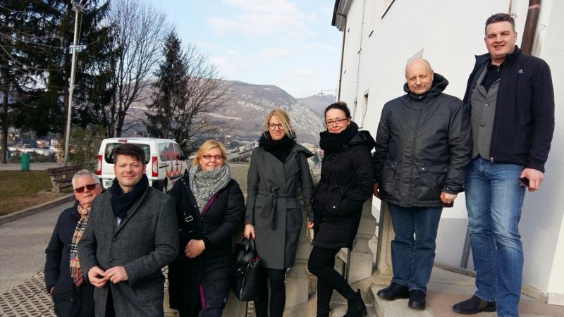 Zittauer Delegation in Slowenien