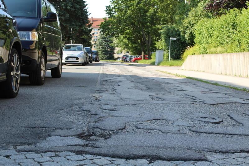 Straßenbauer haben weiter gut zu tun in der Spreestadt