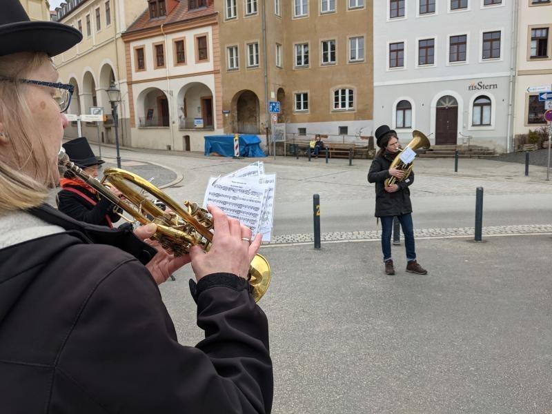 Blechbläser beleben Görlitz zum 950. Jubiläum