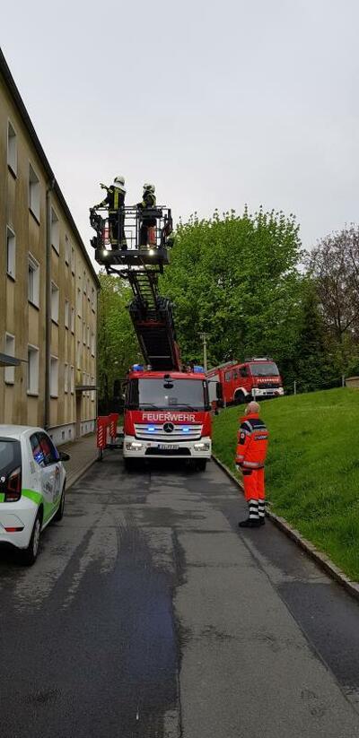 Einsätze der Zittauer Feuerwehr in Coronazeiten