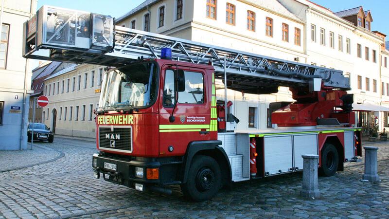 Wohnungsbrand in Löbau