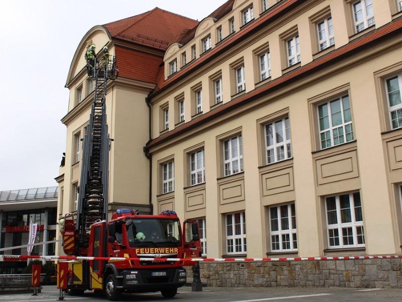 Bautzener Berufsfeuerwehr rückt zu Museum aus