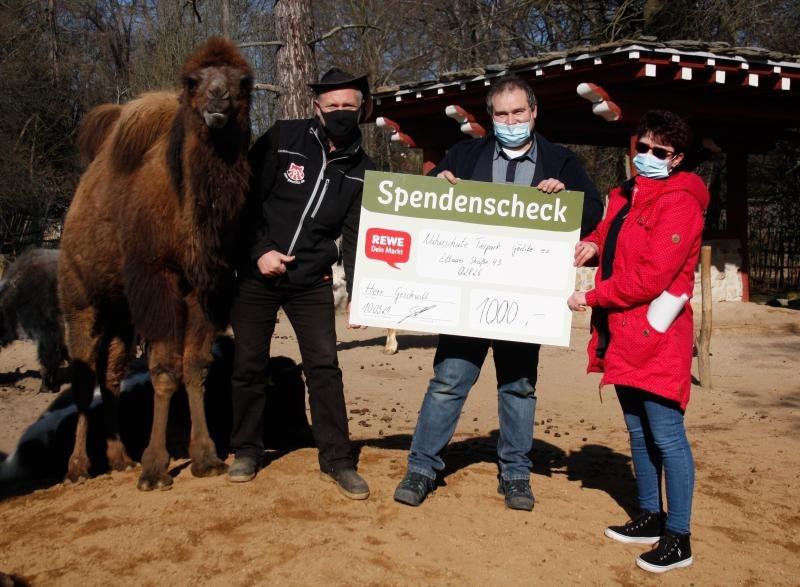 Spende für die Tiere aus vollem Herzen