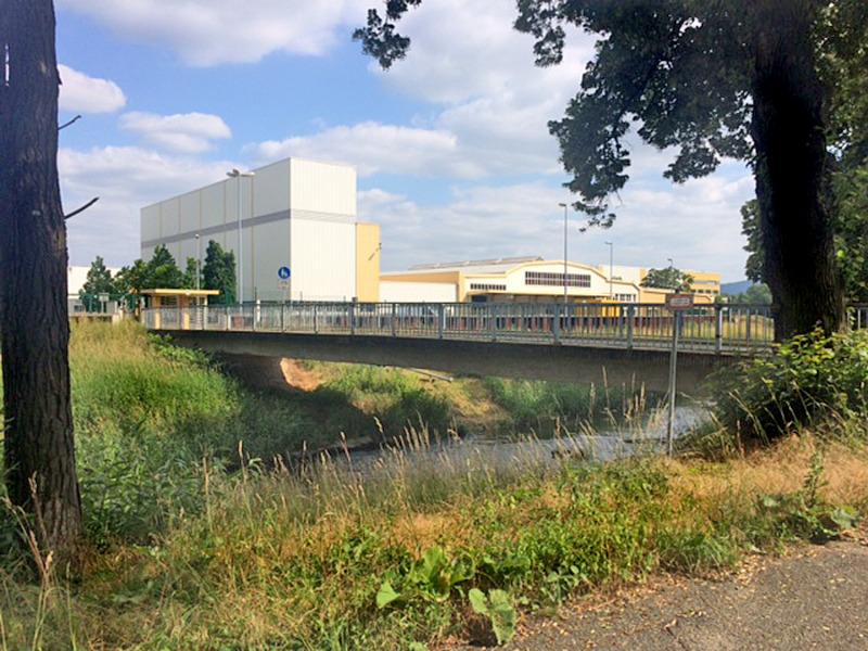 Bombardier-Brücke: Stadträte am Zug
