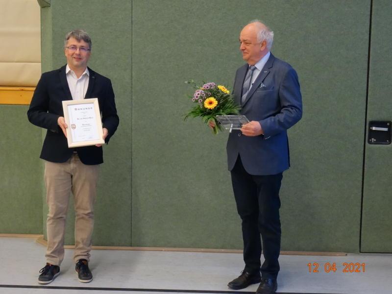 Dr. med. Hanzl  ist neuer Ehrenbürger von Oderwitz