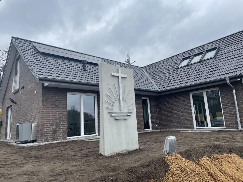 Die Hauskirche wird jetzt eingeweiht
