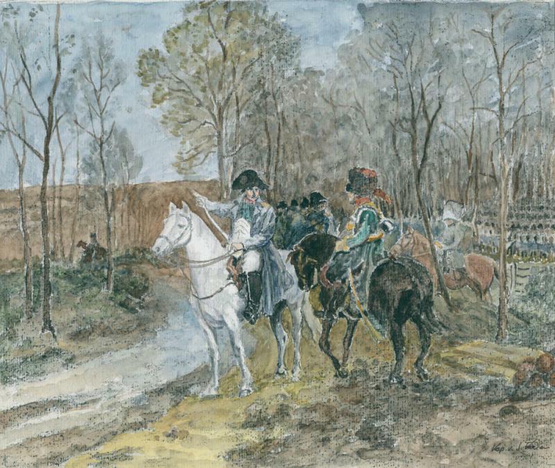 Widersprüchlicher Napoleon verachtete die Feigheit