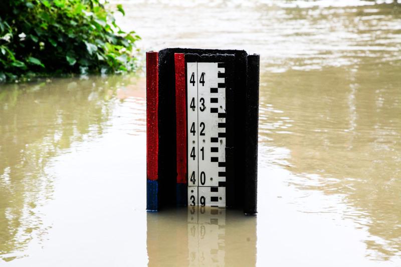 Hochwasser durch Dauerregen