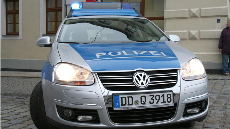 Einbrecher stellt sich der Polizei