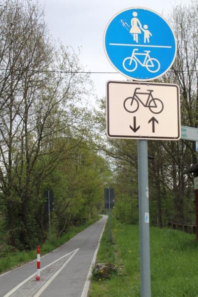Stadt will bei Bahnradweg noch einmal nachbessern