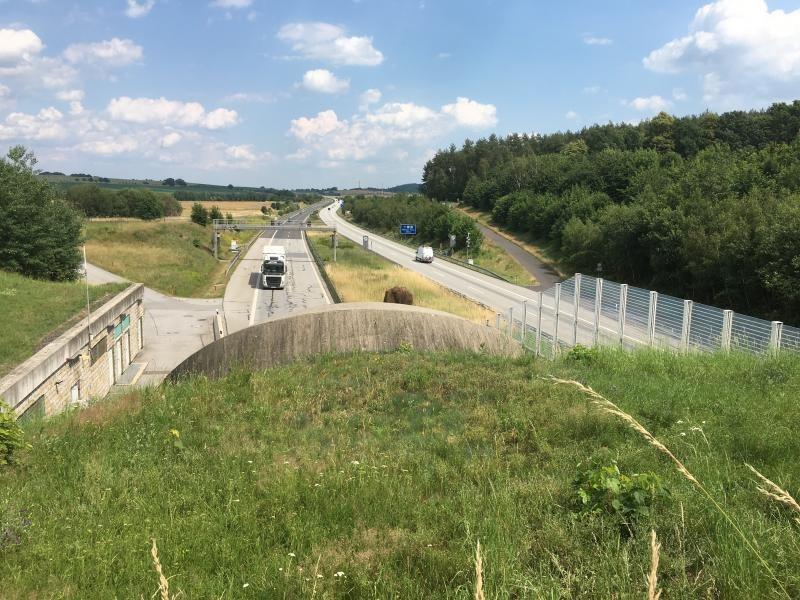 Tunnelarbeiten vom 24. bis 28. April
