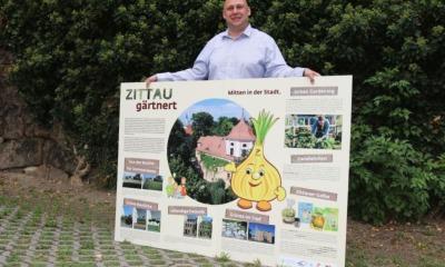 Zittau gärtnert für Wettbewerb