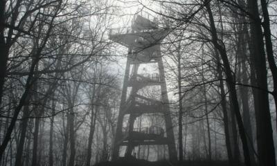 Der Aussichtsturm  wird abgerissen