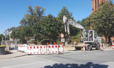 August-Bebel-Straße erhält jetzt neue Decke