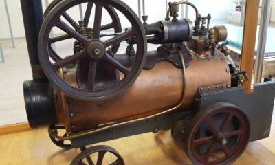 Historisches Spielzeug im Motorrad- und Technik Museum
