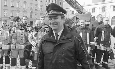 Trauer um Ex-Feuerwehrleiter