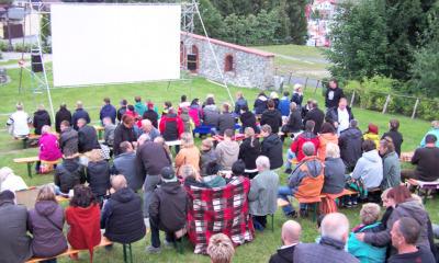 Open Air Kino auf Eiskellerberg