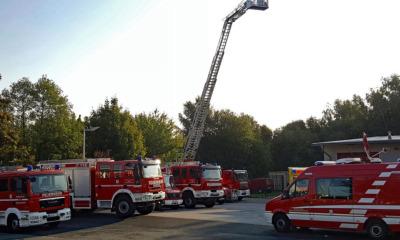 Die Feuerwehr ist ein  Paradestück der Stadt