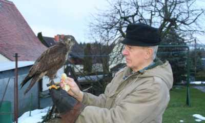 Familie Förster pflegt verletzte Wildtiere