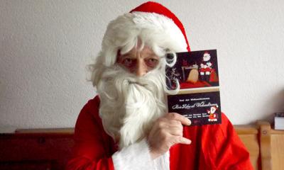 Weihnachtsmann unter den Autoren