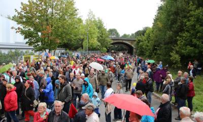 Die Stadt Löbau rüstet sich für den Tag der Sachsen