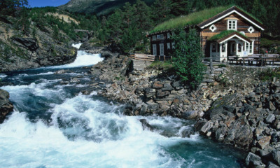 Multimediashow über Norwegen