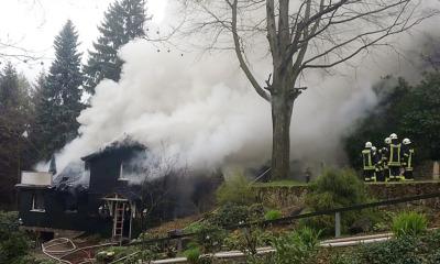 Zeugenaufruf nach Brand eines Einfamilienhauses